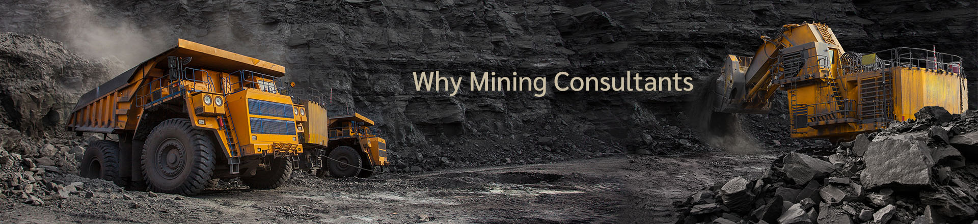 Why mining consultants